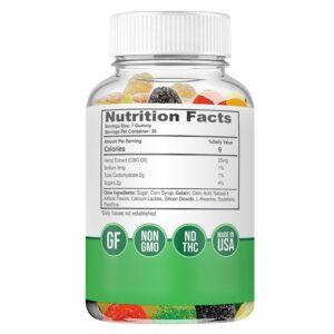 25mg CBD Gummies - supplements - biowellnessx