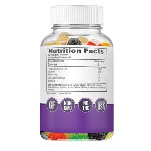 25mg CBD Sleep gummies - supplements - biowellness