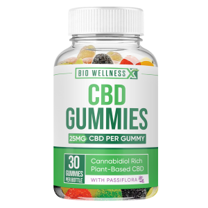 25mg CBD gummies - biowellnessx