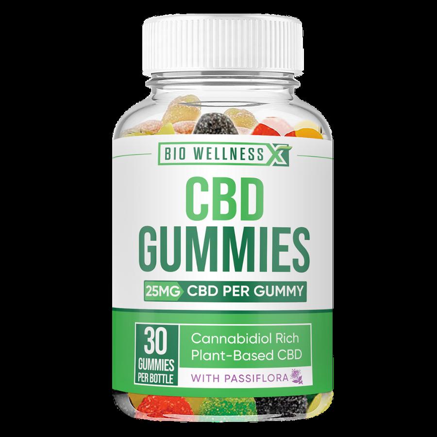 25mg CBD gummies - biowellnessx