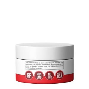 300mg CBD relief cream - back