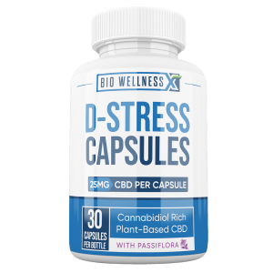 D-Stress CBD Capsules - Biowellnessx