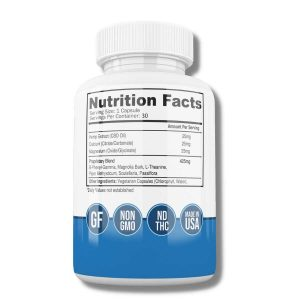 D-Stress Capsules - Nutrition Facts