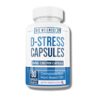 D-Stress Capsules with Gaba