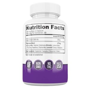 Nighttime CBD Capsules - supplements - Biowellnessx