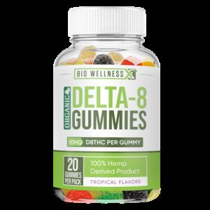 10mg organic delta 8 gummies - biowellnessx