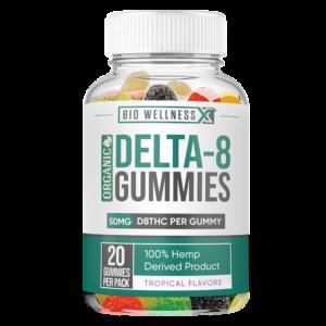 50mg organic delta 8 gummies - biowellnessx