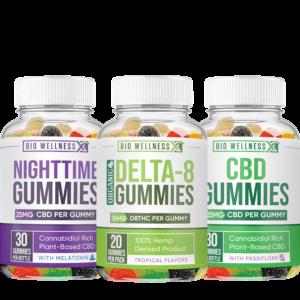 All-Day Around D8 CBD Gummy Combo Package - Biowellnessx