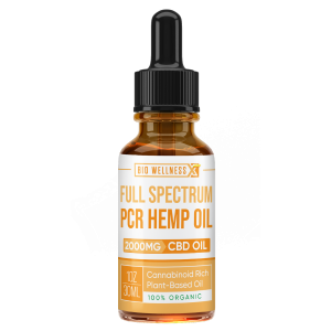 Full Spectrum PCR Hemp Oil - 2000mg - Biowellnessx