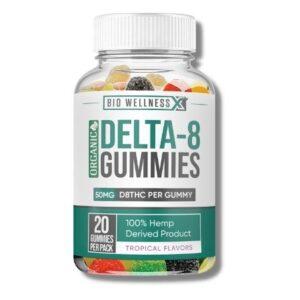 organic delta 8 50mg gummies